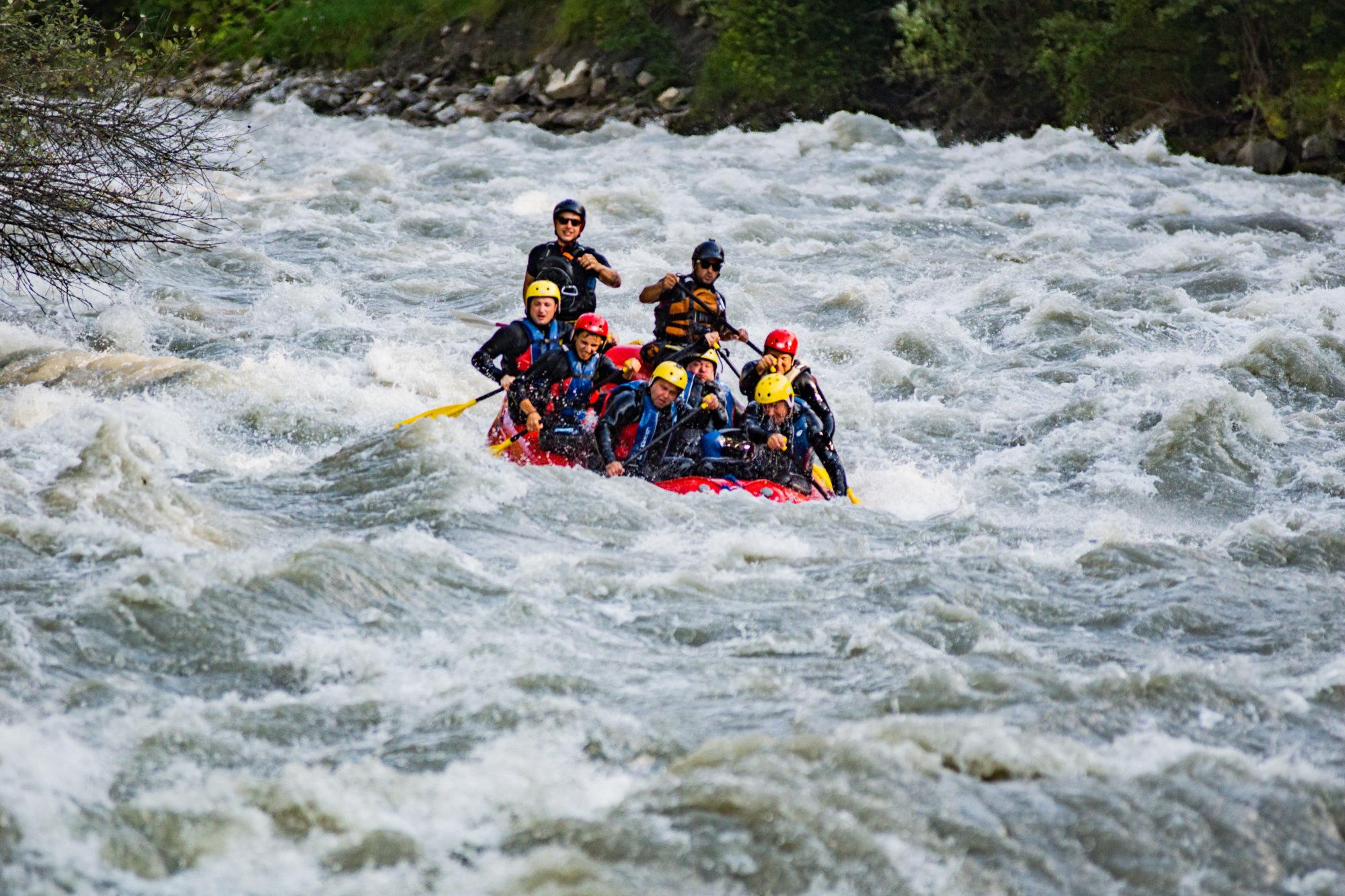 Rafting Ötztal Österreich
