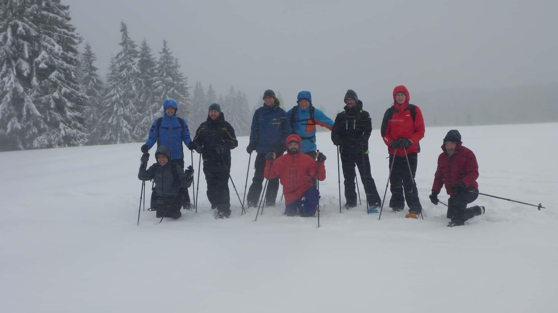 Schneeschuhwanderung am Feldberg
