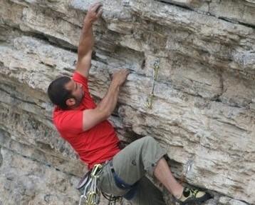 Klettern am Fels