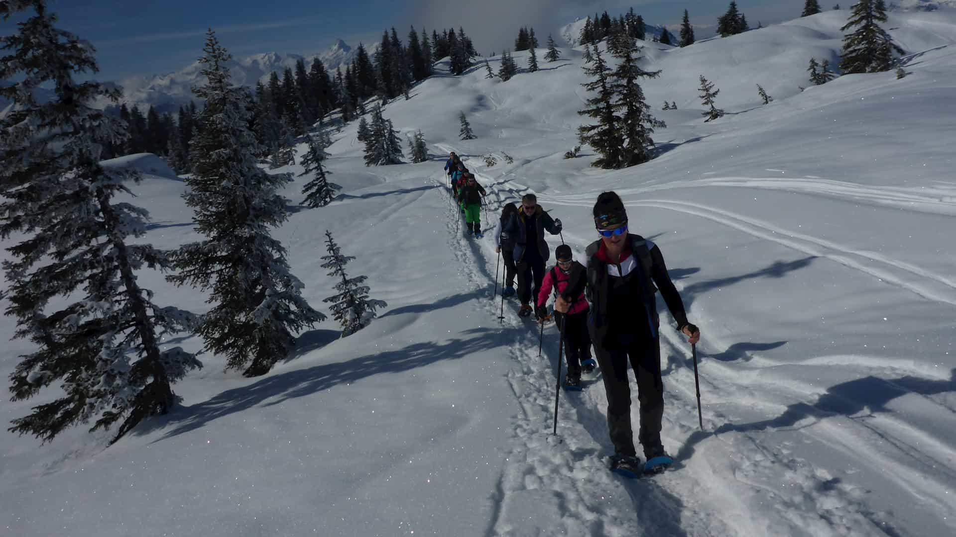Schneeschuhwanderung Vorarlberg