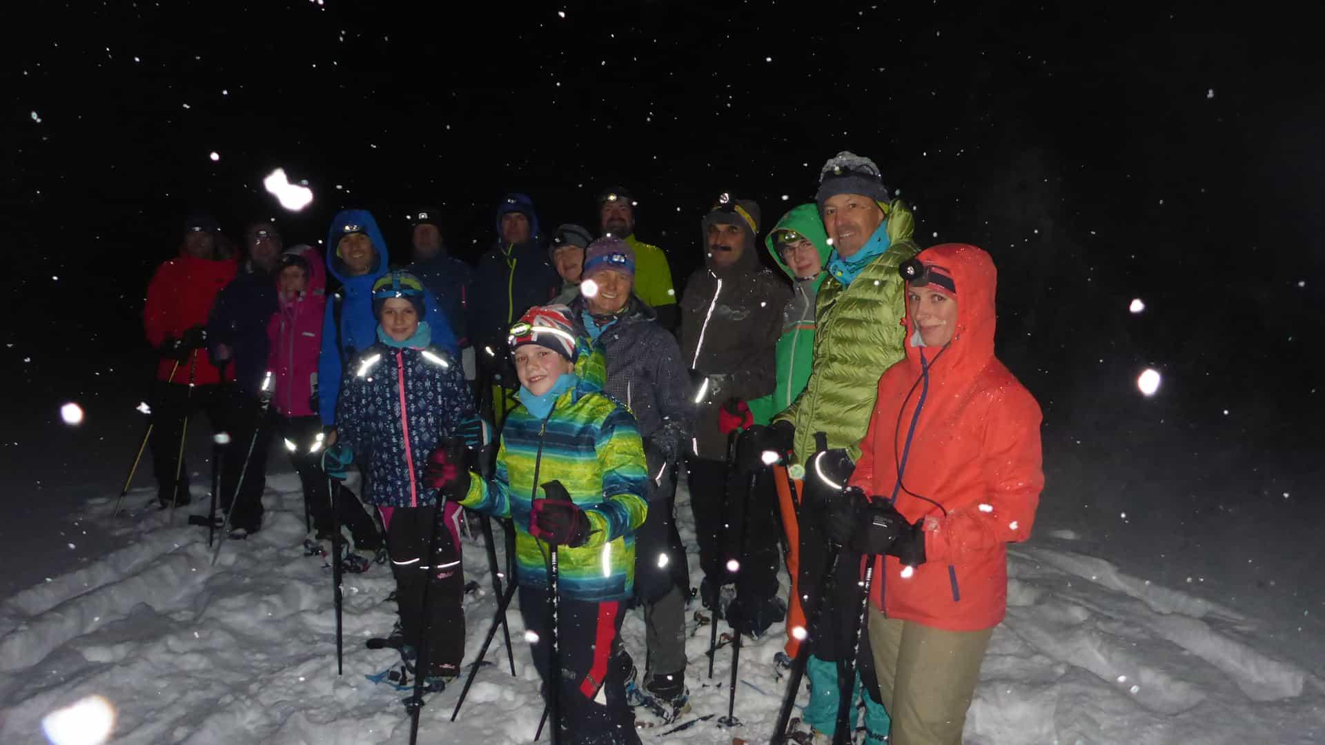 Schneeschuhwanderung Schönwald