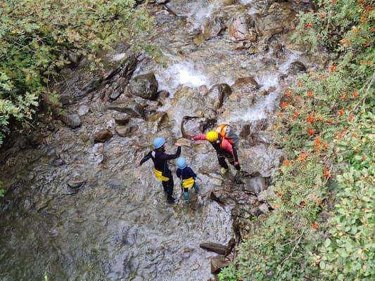 Canyoning Reutte in Tirol