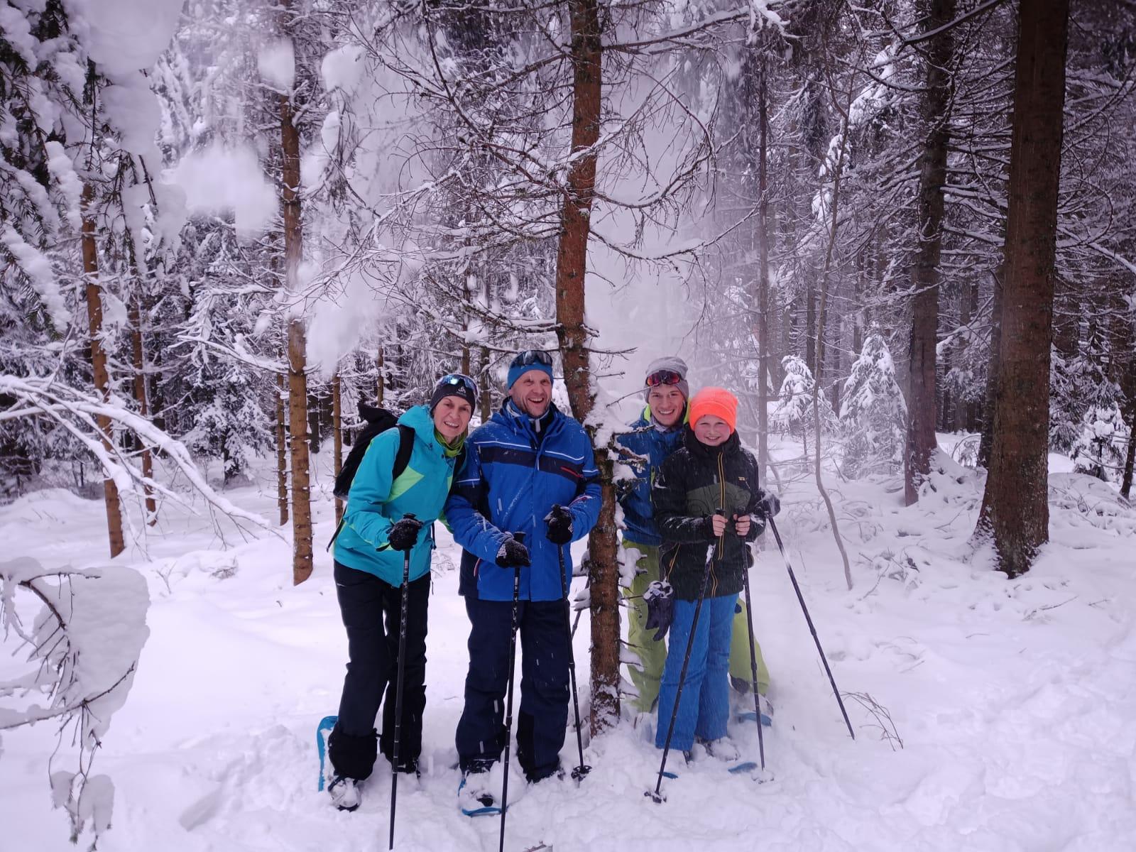 Schneeschuhwanderung Schönwald im Schwarzwald