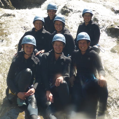 Canyoning Merlins World