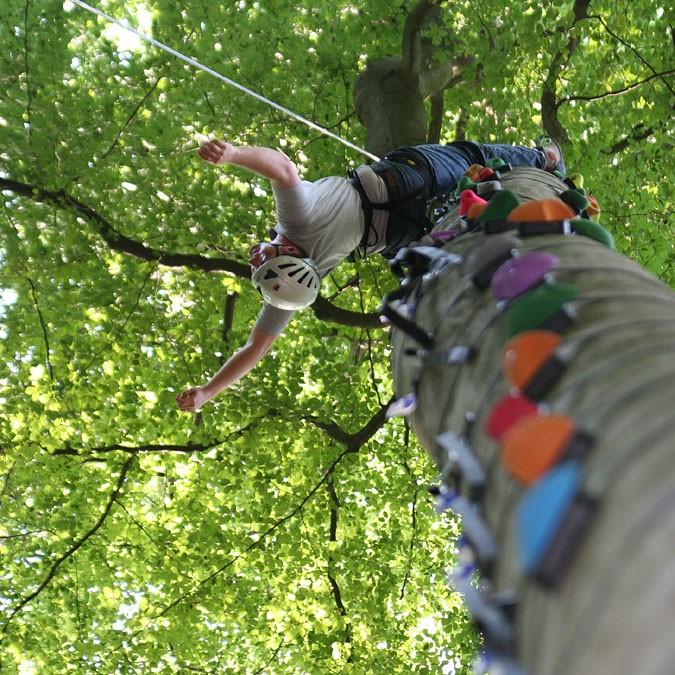 Klettertraining im Schwarzwald