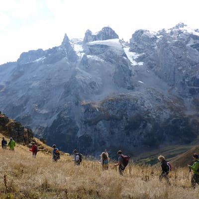 geführte Wandertour im Vorarlberg