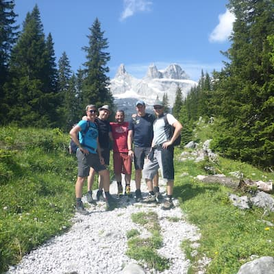 alpine Wandertour Stubaital